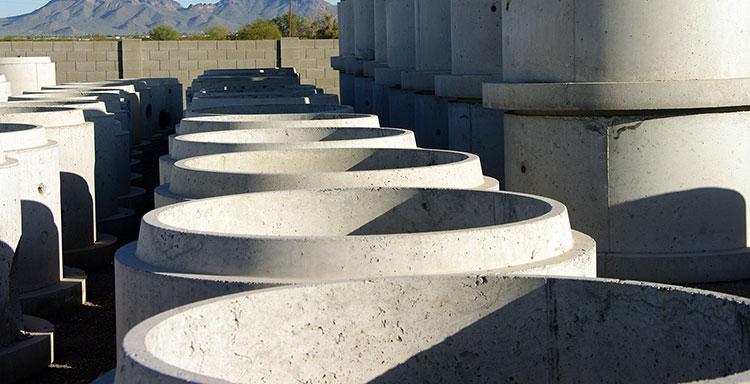 Бетонови шахти и усилени бетонови тръби